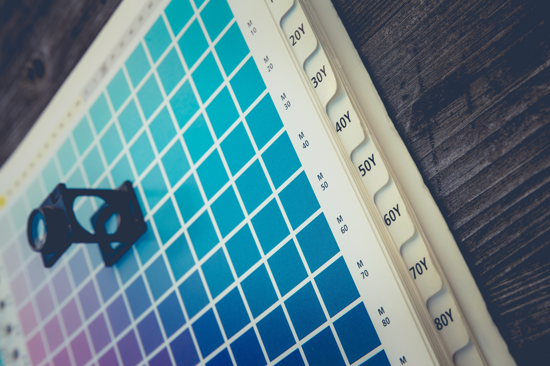 Kleuren in drukwerk
