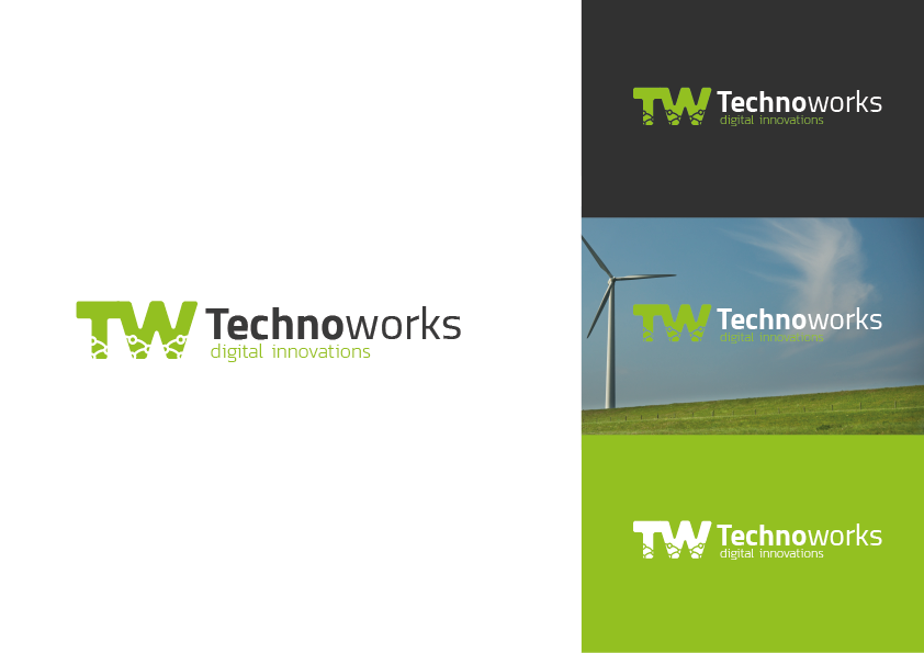 TechnoWorks logo presentatie