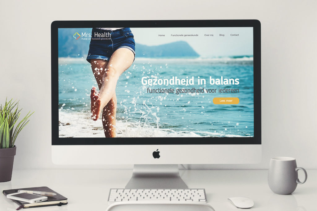 Webdesign Mrs.Health