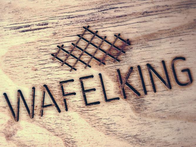 WafelKing logo ontwerpen